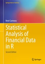 Statistical Analysis Of Financial Data In R  Ren Carmona