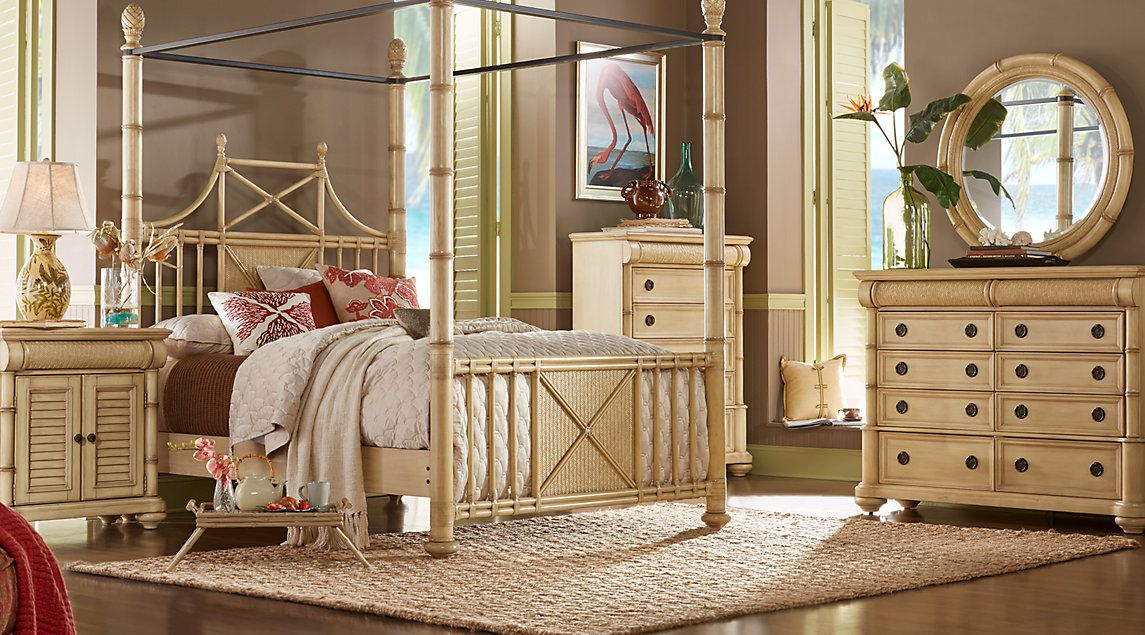 Affordable Canopy Queen Bedroom Sets Rooms To Go