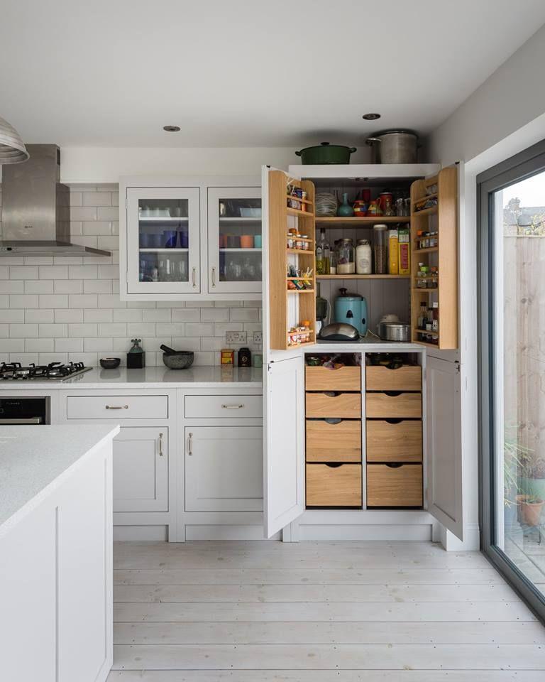 The Shaker Kitchen Co.: four-door larder cupboard in 2019 ...