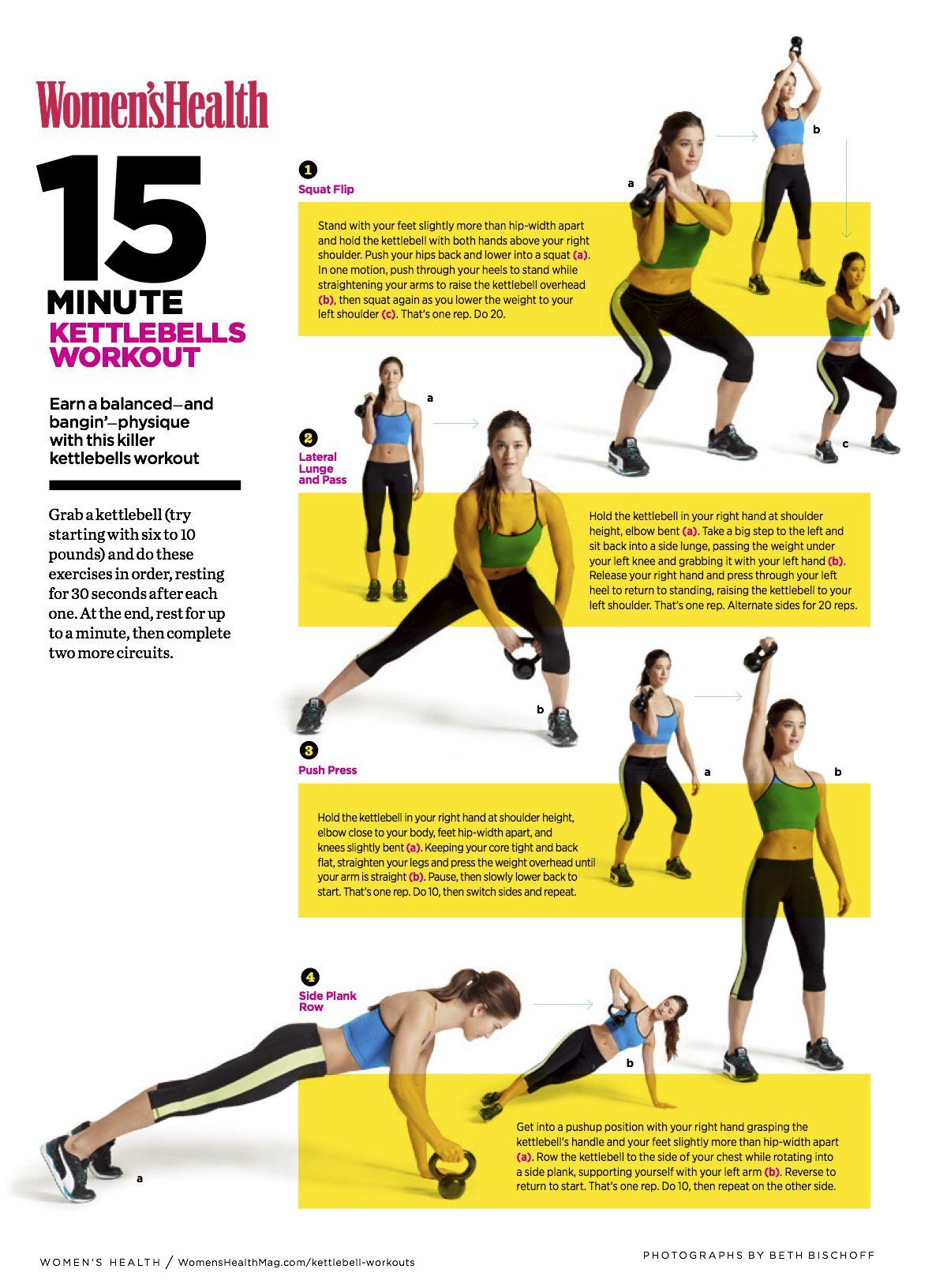 15 Minute Kettlebells Workout 15 Minute Kettlebells Workout new pictures