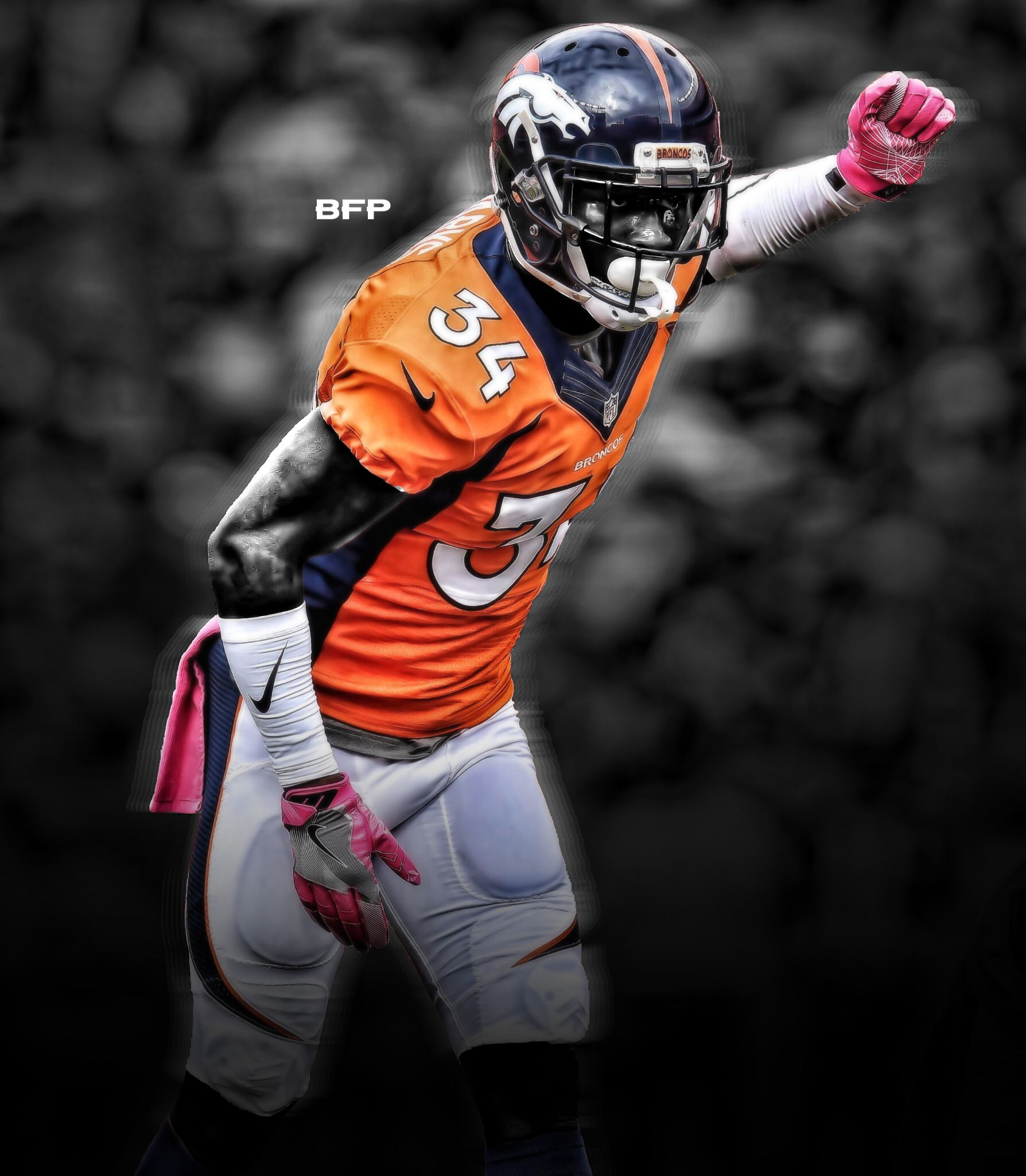 Will Parks, Broncos safety. Broncos, Photo and video