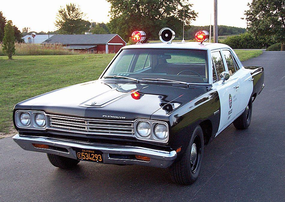 1969 Plymouth Satellite Adam 12 Police Cars Tv Cars Cars