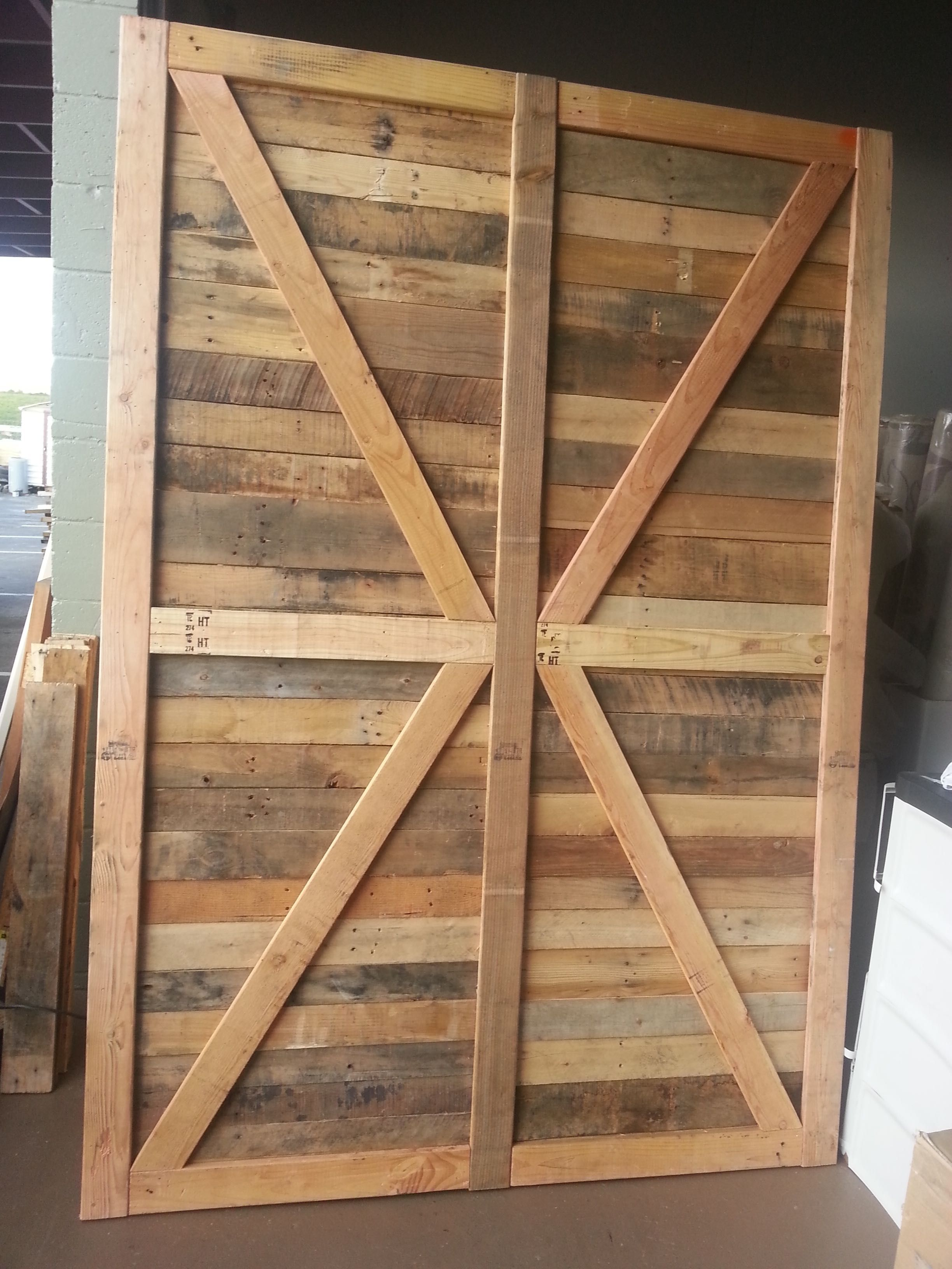 Custom Made Rustic Farmhouse Style Barn Door By Recowarehouse Com Located In San Diego Reclaimed Wood Furniture Wood Custom Barn Doors