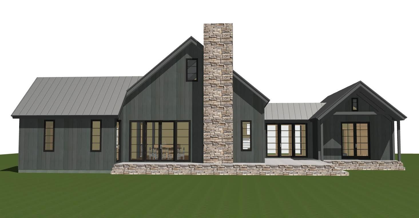 Contemporary Barn Home Plan The Lexington Barn Style House Plans Barn House Plans Modern Barn House