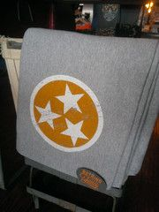 Other Good Stuff Nothing Too Fancy Tennessee State Flag Tri Star Sweatshirt Blanket