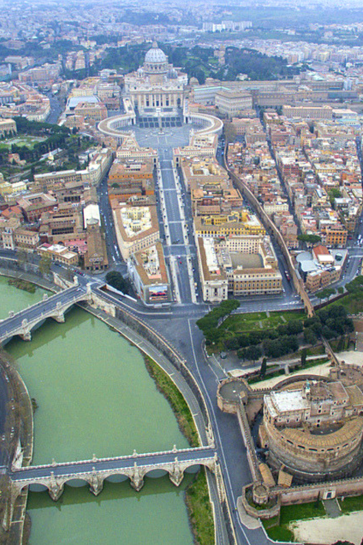 Rome City Tour From Above In 2019