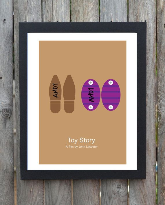 bec054705a8d5 Toy Story minimalist movie poster woody buzz lightyear on Etsy