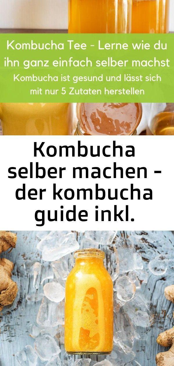 Kombucha selber machen - der kombucha guide inkl. anleitung 1 #kombuchaselbermachen Kombucha Tee ist ein gesundes Getränk das jeder Anfänger ganz einfach nach Anleitung, mit nur 5 Zutaten selber machen kann. Dadurch, dass der Scoby Pilz den Zucker in gesunde Bakterien umwandelt, kannst du deine Gesundheit durch das trinken unterstützen. Denn die Bakterien befinden sich im Darmtrakt und unterstützen von dort das Immunsystem. Der Kombucha Tee hilft also eine gesunde Darmflora wieder herzustell #kombuchaselbermachen