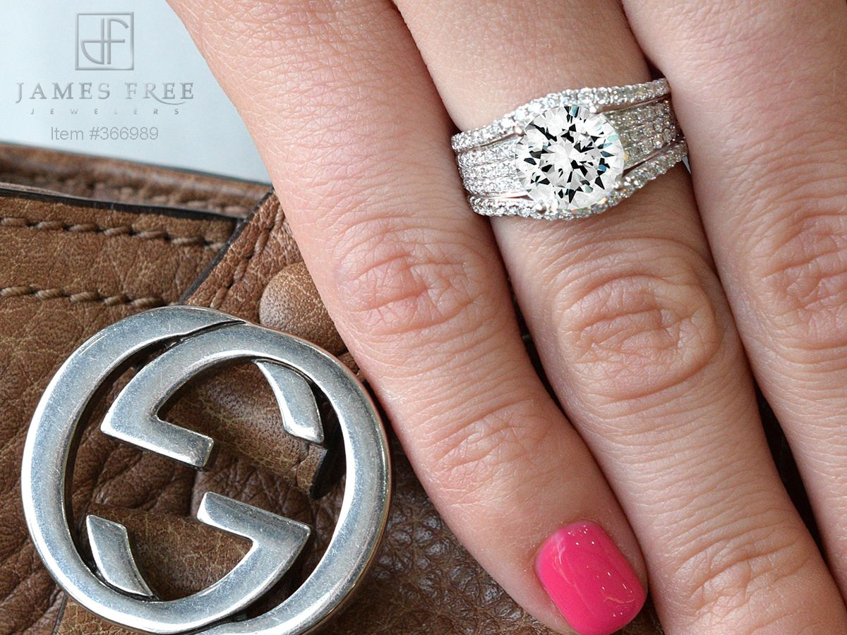 Simon G Engagement Ring, Style Number TR192-CLO, James Free Jewelers ...