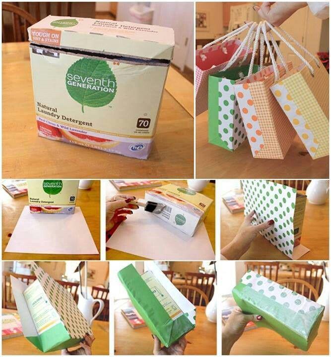 Reuse Empty Laundry Soap Boxes Cute Laundry Detergent