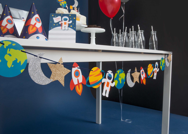 24 Taza de Regalo Personalizado Cumpleaños Cake Toppernaves espacialesnombre y edad