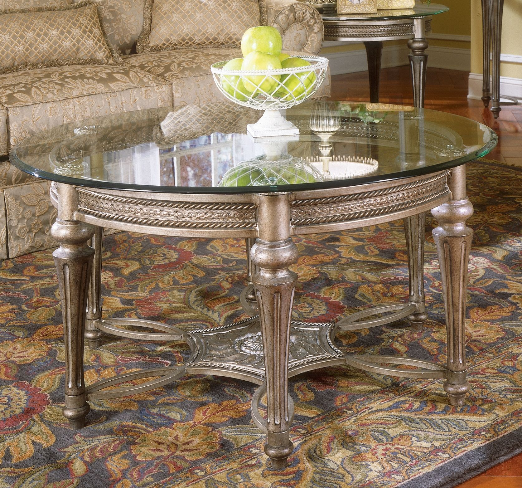 Best Galloway Round Cocktail Table Table End Table Sets 400 x 300
