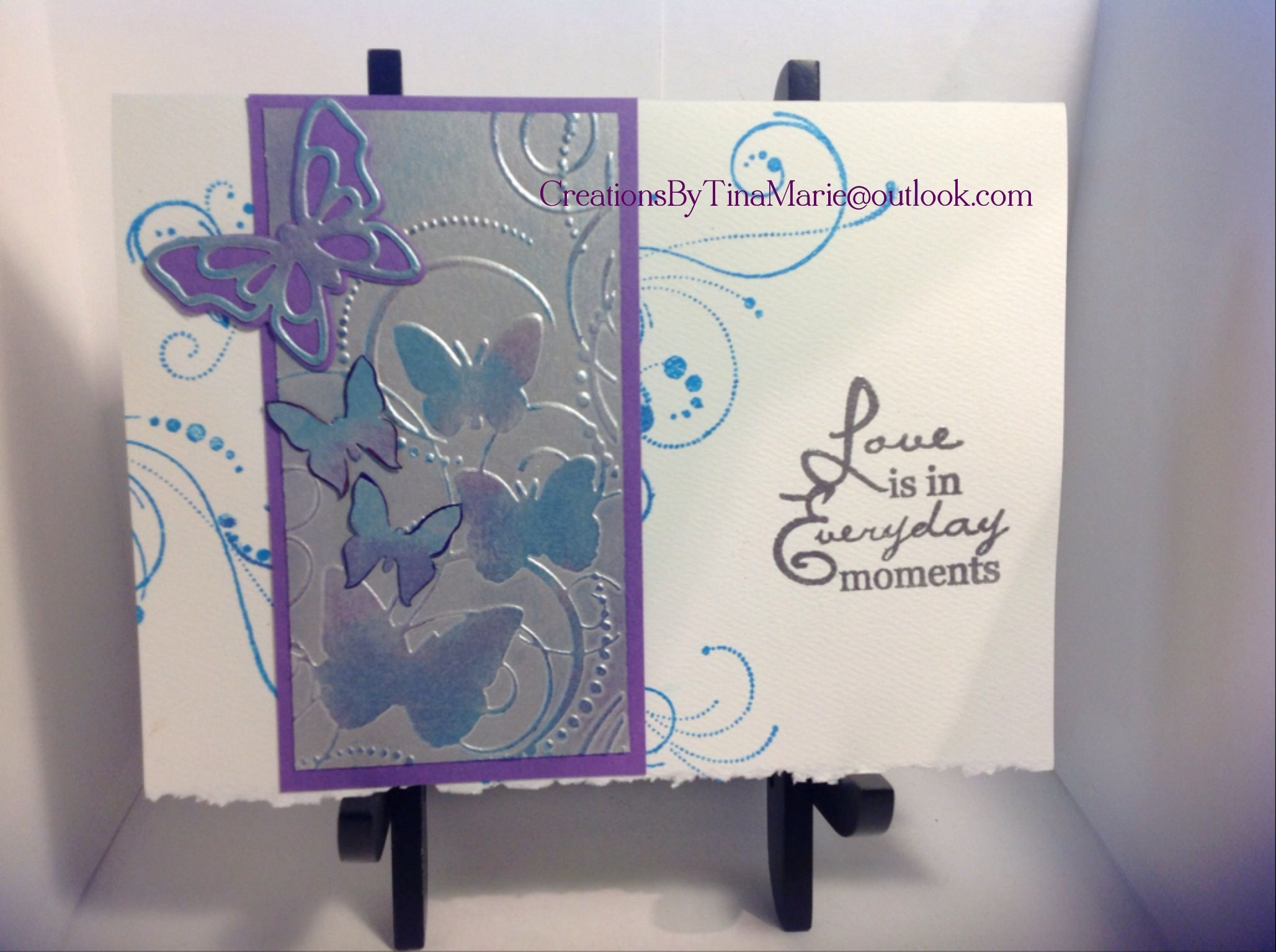 Wedding card for stepson Strathmore Fluorescent White Deckle card