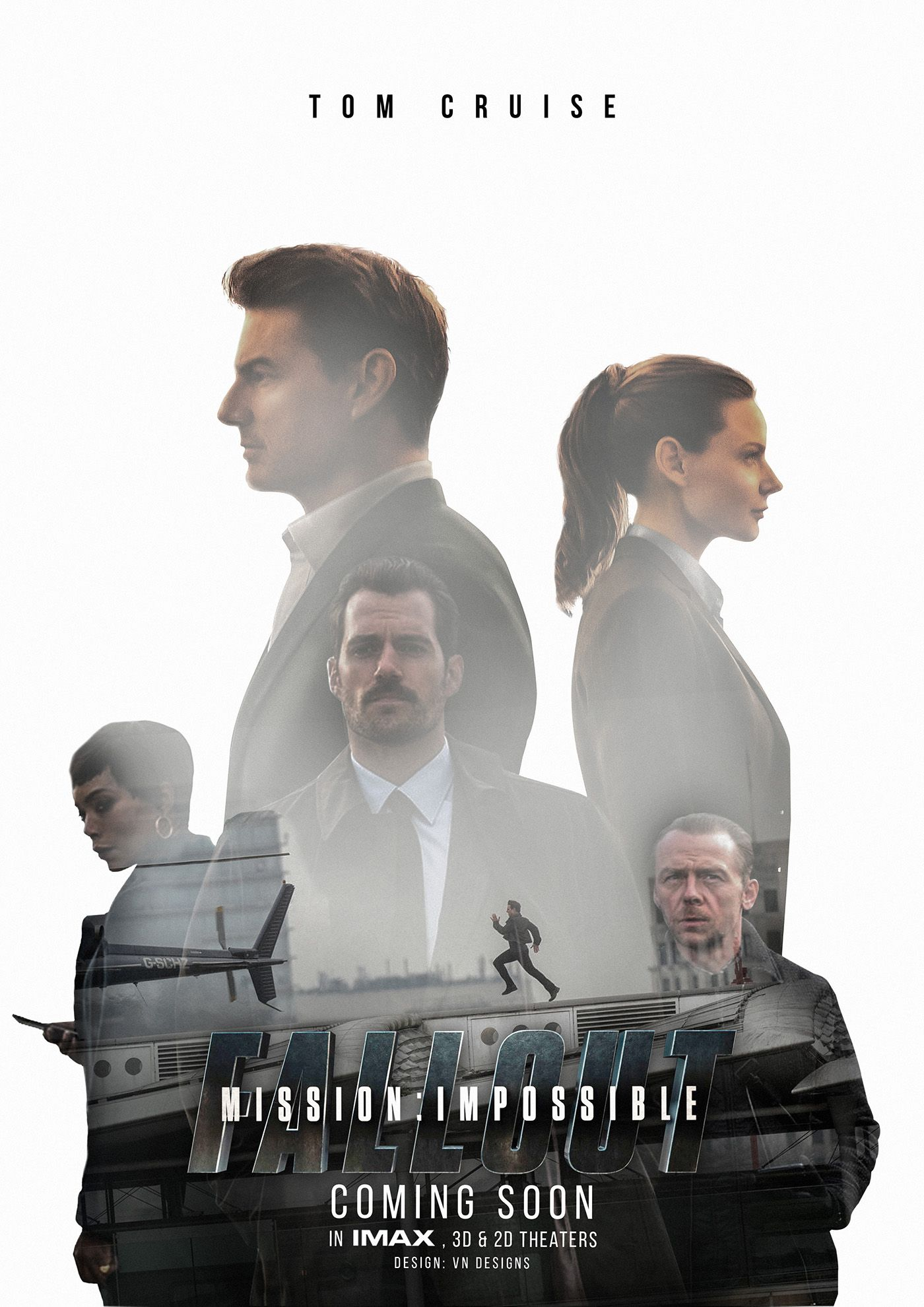 Mission Impossible Fallout Poster Design On Behance Mission Impossible Movie Fallout Posters Mission Impossible Fallout