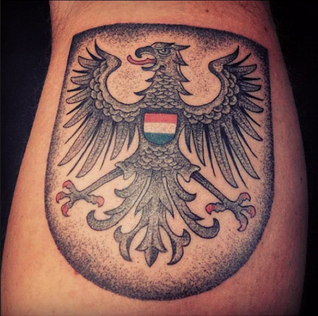 heilbronn wappen tattoo made by guy waisman german eagle. Black Bedroom Furniture Sets. Home Design Ideas