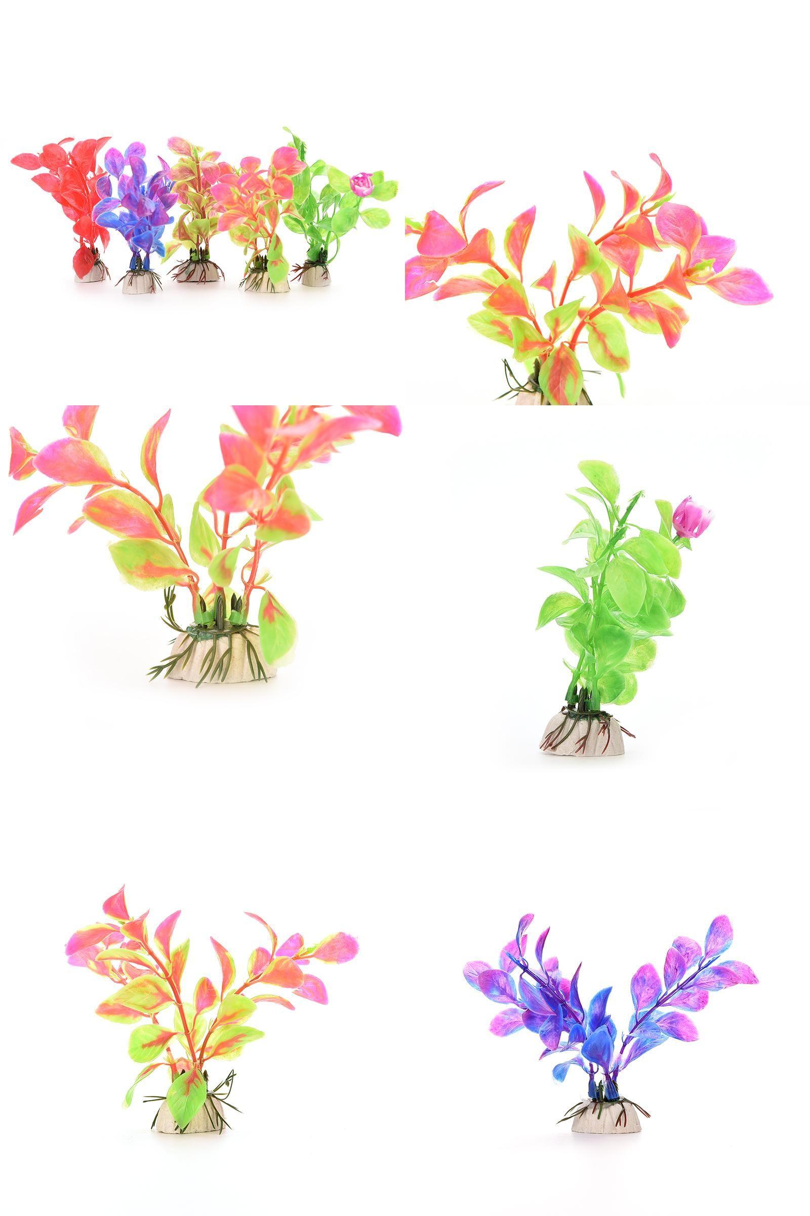 Visit to buy pcs cm simulation artificial plants aquarium decor