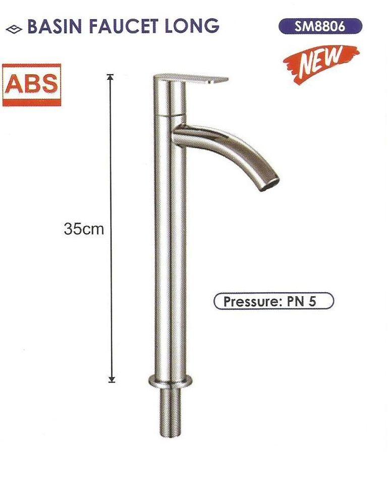 Basin Faucet Long 35cm Size 1 2 Inch Sailing Sm8806 Bila Ada