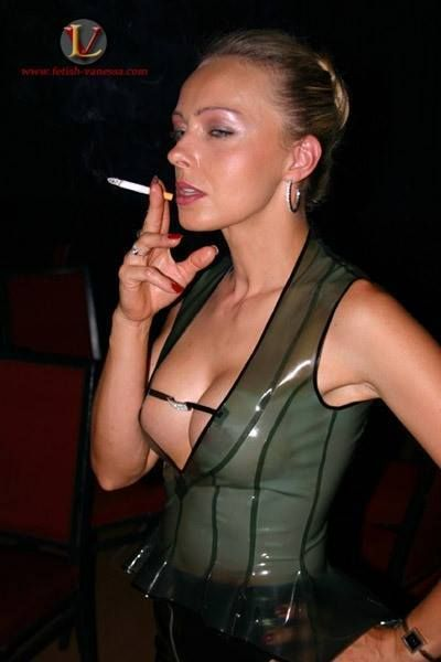 Smoking Fetish Mature