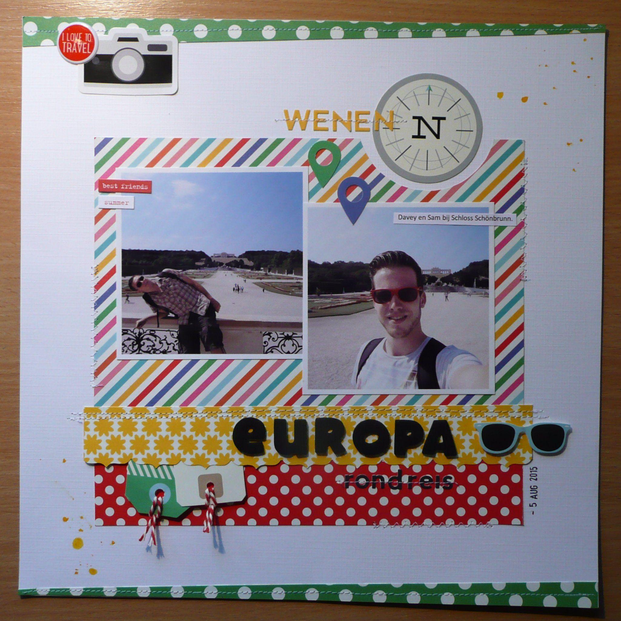 Europa+rondreis - Scrapbook.com