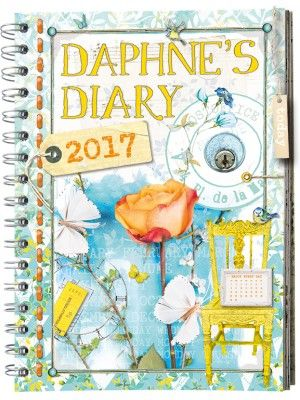 The new Daphneu0027s Diary Agenda 2017 Space every day for menu, TV - annual agenda