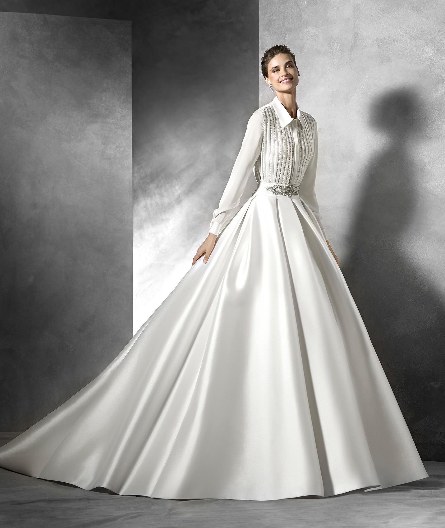 TARIFA - Sexy Brautkleid mit herzförmigem Dekolleté ...