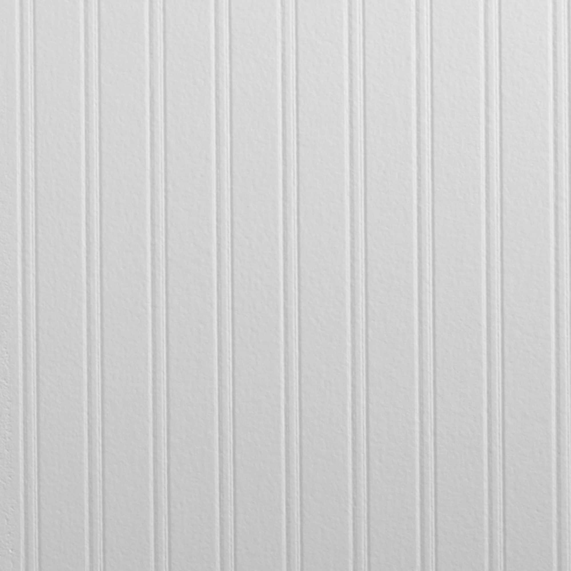 Graham & Brown Beadboard PrePasted Paintable Wallpaper in