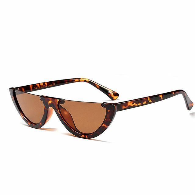 51c6a8b7d75 Moonchild Half Frame Sunglasses