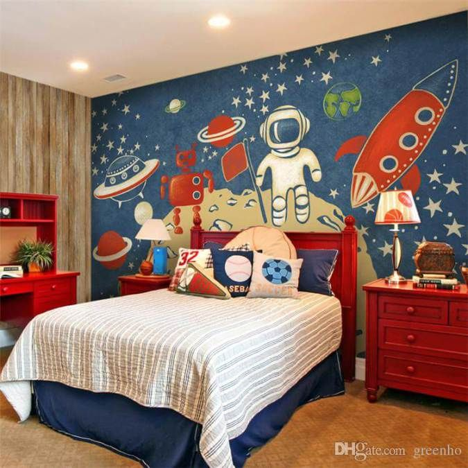 20 kid s space themed bedroom design ideas room decorating ideas
