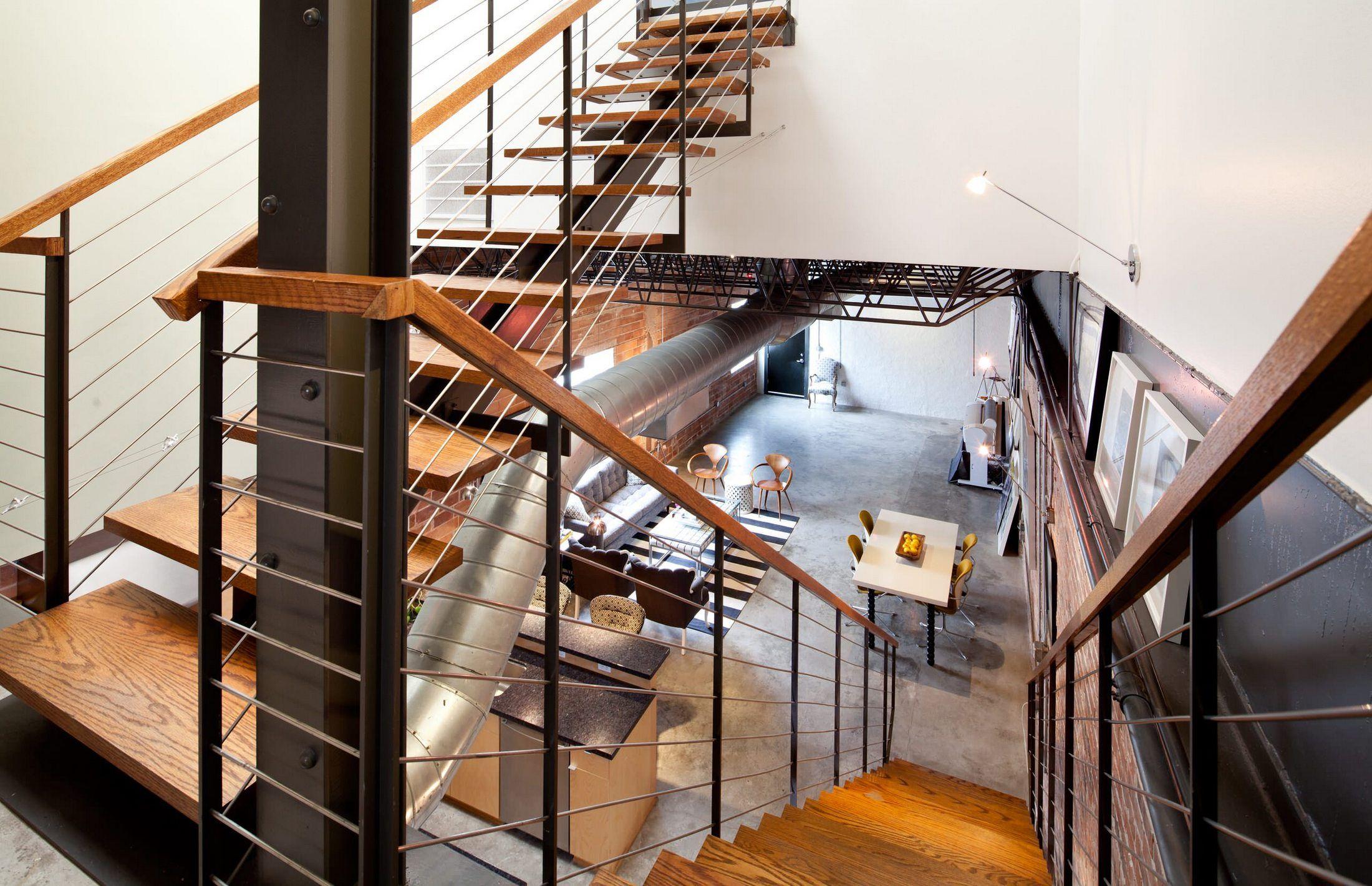 Best Laura U Duplex Industrial Townhouse In Houston 640 x 480