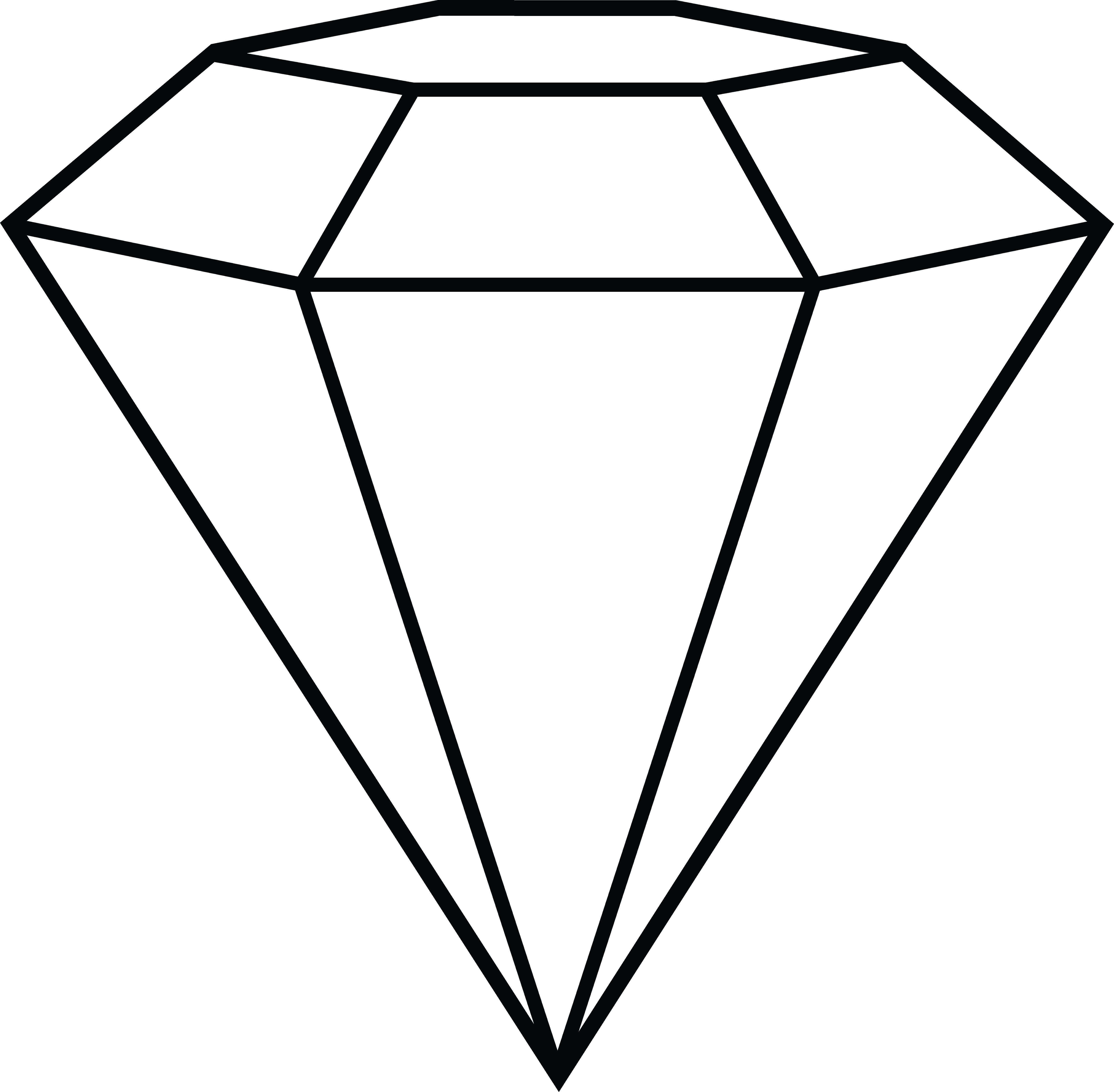 Diamond Lineart