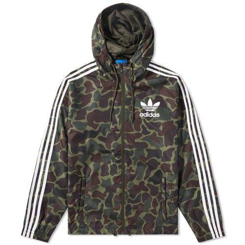 Adidas Camo Windbreaker | Adidas camo, Adidas, Windbreaker