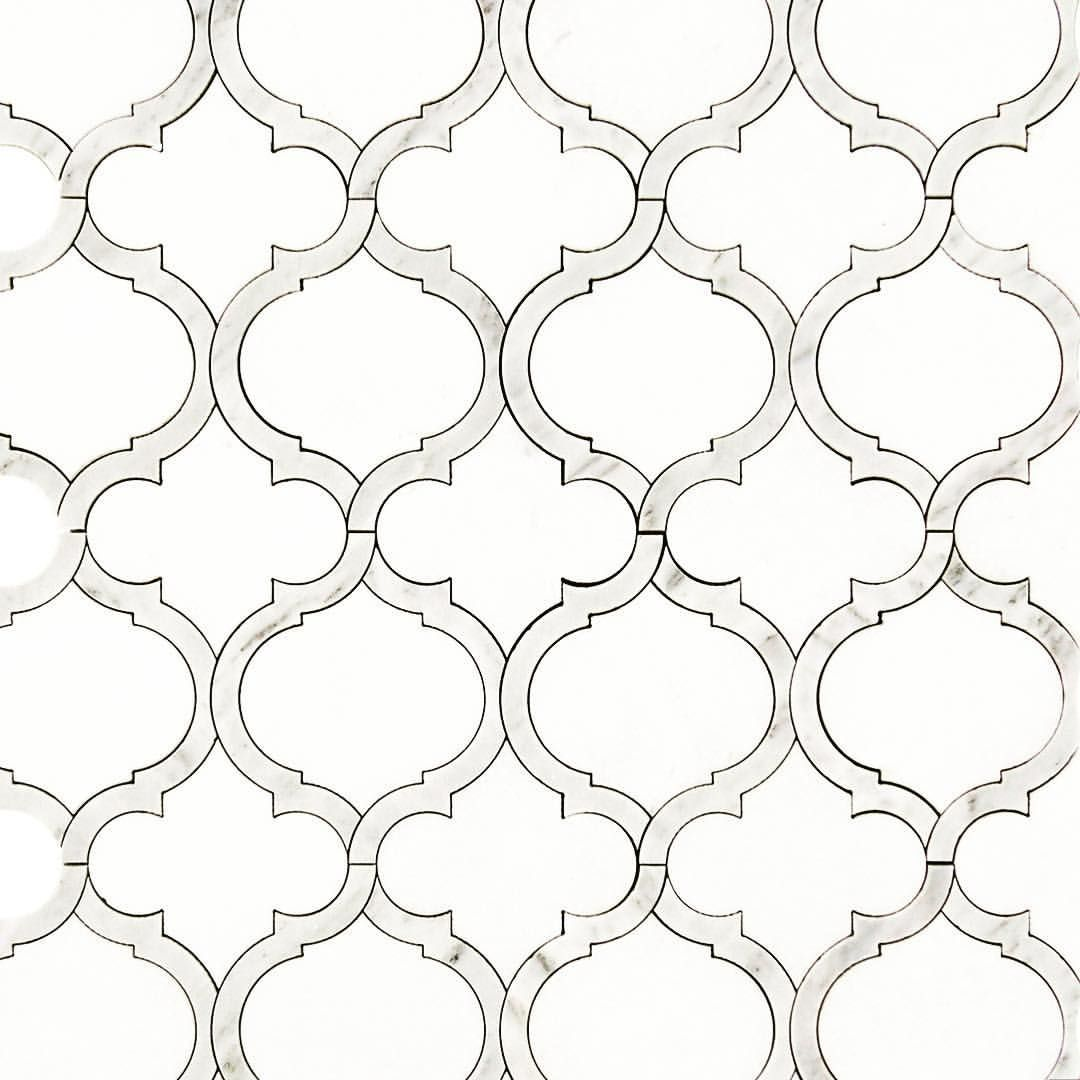 Pin by TileBuys on Luxury Waterjet Mosaic Wall Tile | 3D Inspired ...