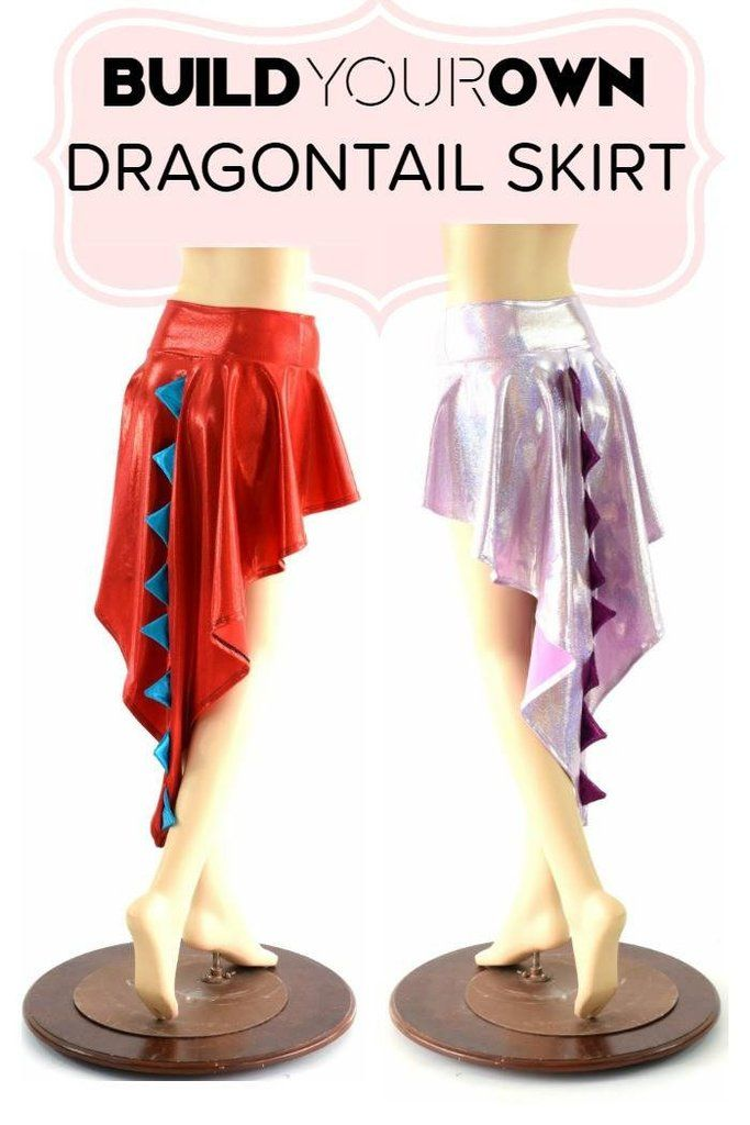 Build Your Own Dragon Tail Skirt | Patrones Patterns | Pinterest ...