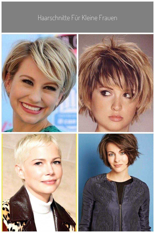Haarschnitte Fur Kleine Frauen Styling Looks Locken Damen Stirn Outfits Cabello Pelo Haar Bob Haarschnitt Haarschnitt Kurz Haarschnitt Rundes Gesicht