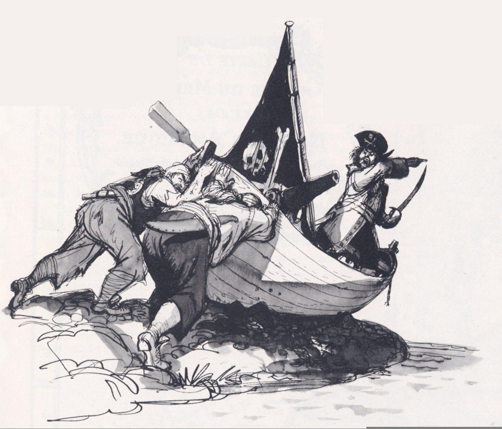 Marc Davis Pirates Of The Caribbean Concept Art
