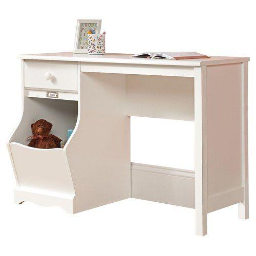 escritorio blanco sauder juvenil vbf