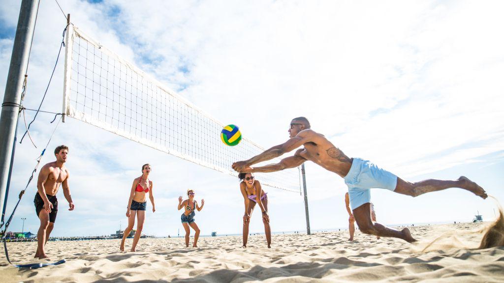 Beach Volley Beach Volleyball Summer Events Ideas Sports