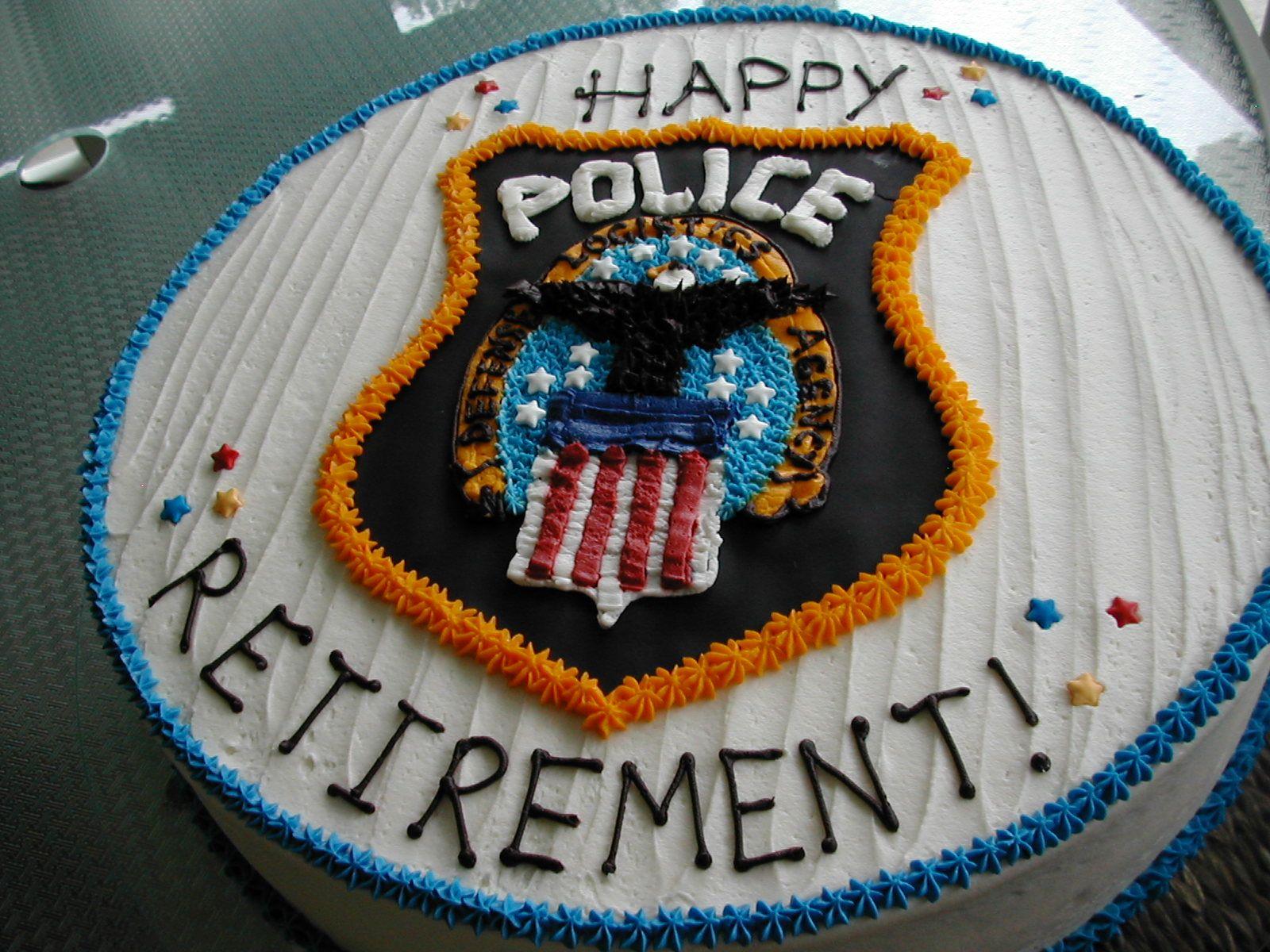 Police Retirement Cake Retirement Cakes Police Cakes Fire Cake