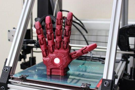 3D printed, light up superhero prosthetic idea