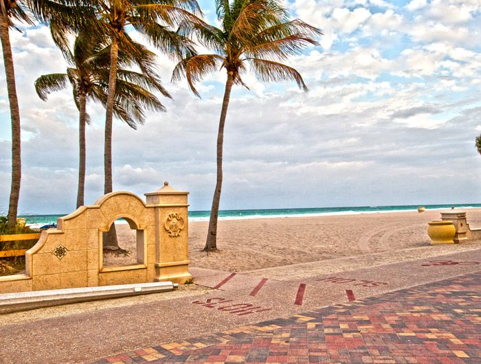 Explore Just South Of Fort Lauderdale Hollywood Offers Guests The Opportunity To Explore So Hollywood Beach Travel Destinations Beach Fort Lauderdale Beach