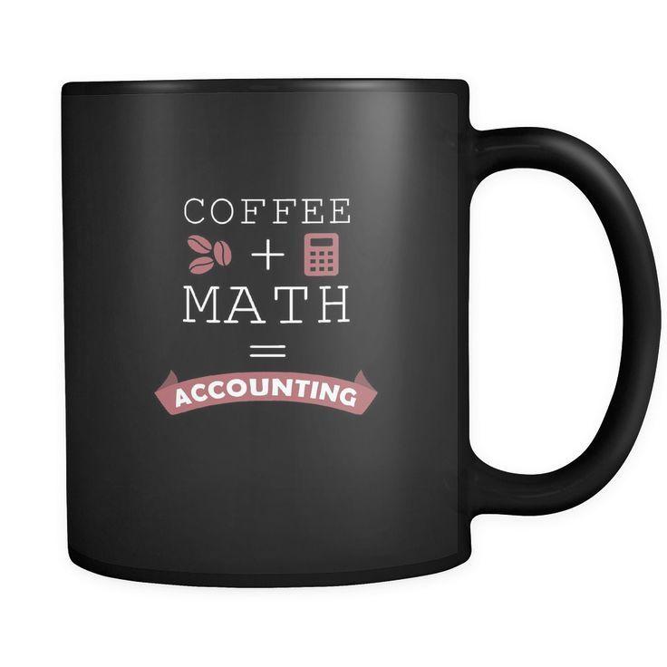 Accountant mugs coffee math accounting mug