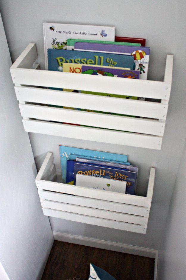 30 awesome diy storage ideas ikea knagglig andere for Aufbewahrungsideen kinderzimmer