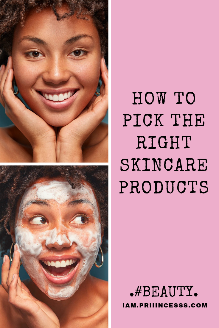 How To Pick The Right Skin Care Products Priiincesss Skin Care Oily Skin Care Routine Combination Skin