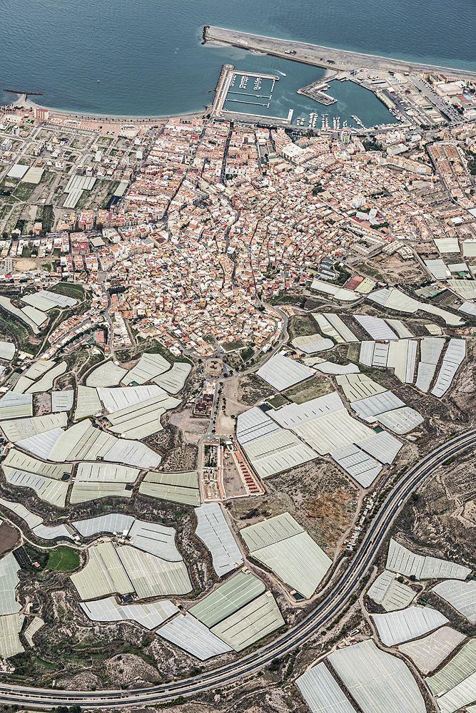 Aerial Views Mar Del Plastico by Bernhard Lang Aerial