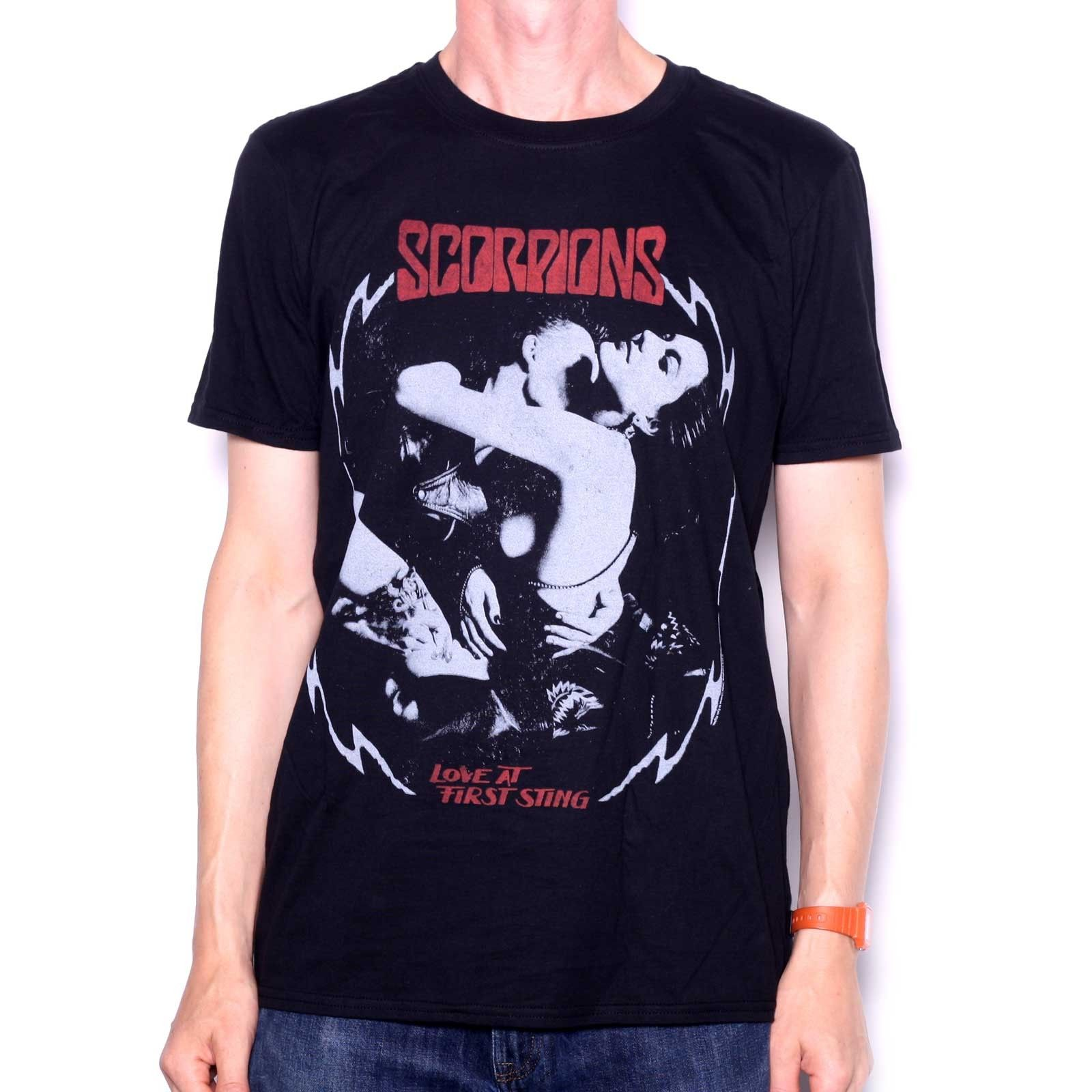 NEW /& OFFICIAL! Scorpions /'Love At First Sting/' T-Shirt