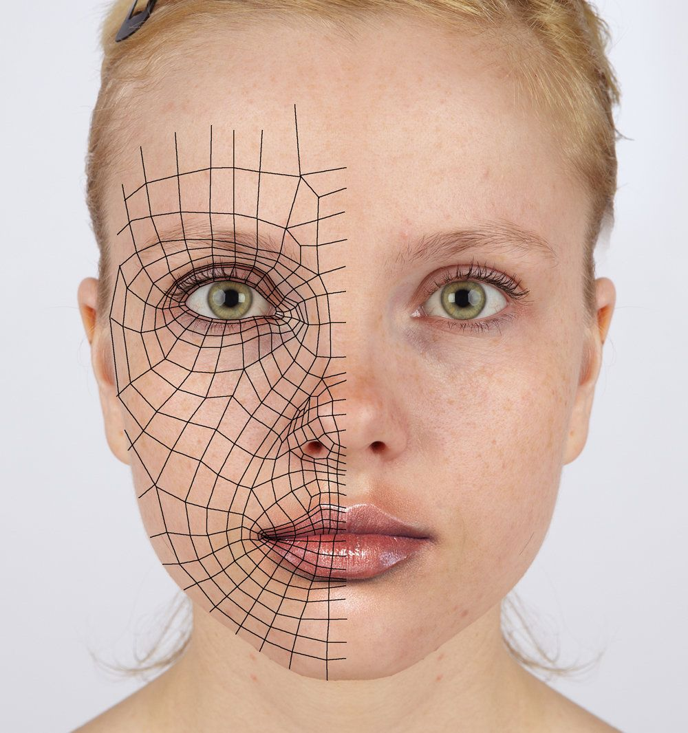 3d reference - face loops by Athey | Diseño | Face ...