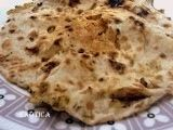 Chola kulcha is a traditional panjabi food. Kulcha is a type of indian bread prepared in a tandoor/clay oven.nowadayswe prepare kulchas at gas tandoor and convection oven also chola/chickpea curry is aaccomplishment with kulcha .                        For dough :    Refined flour (maida) 2 cups  Curd