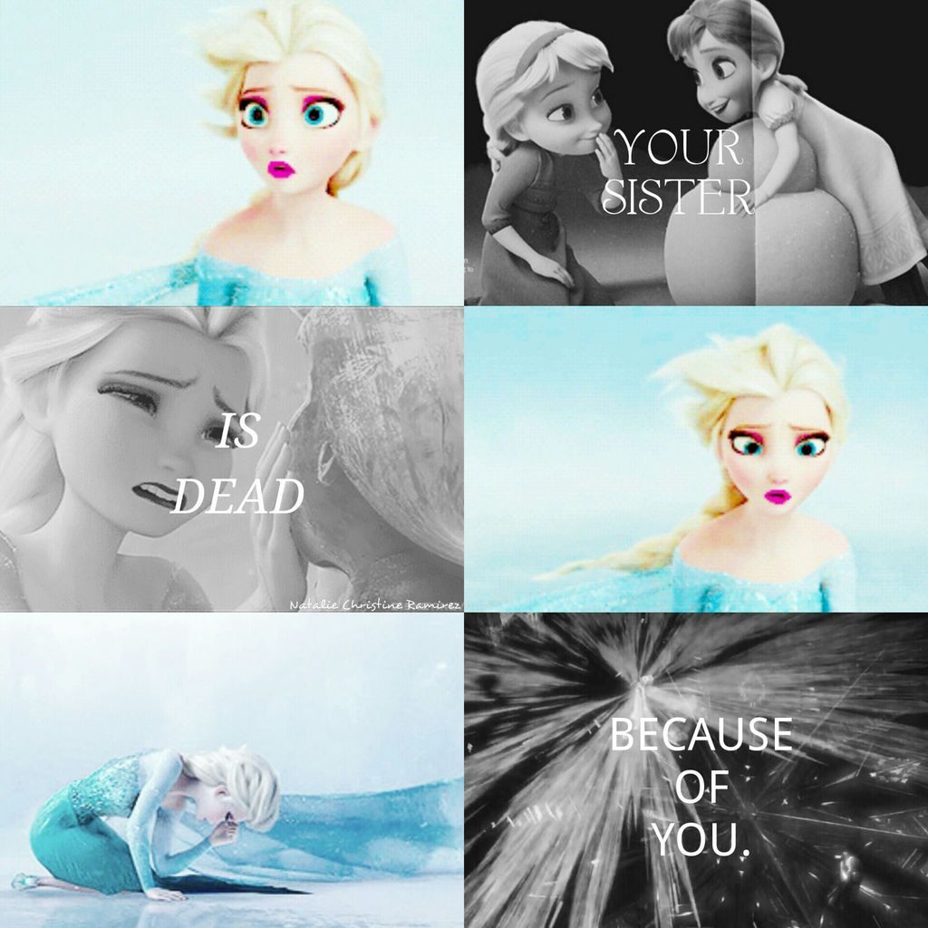 """✝☮✿★ DISNEY FROZEN ✝☯★☮ """"Your sister is dead because of you."""" -Prince Hans"""