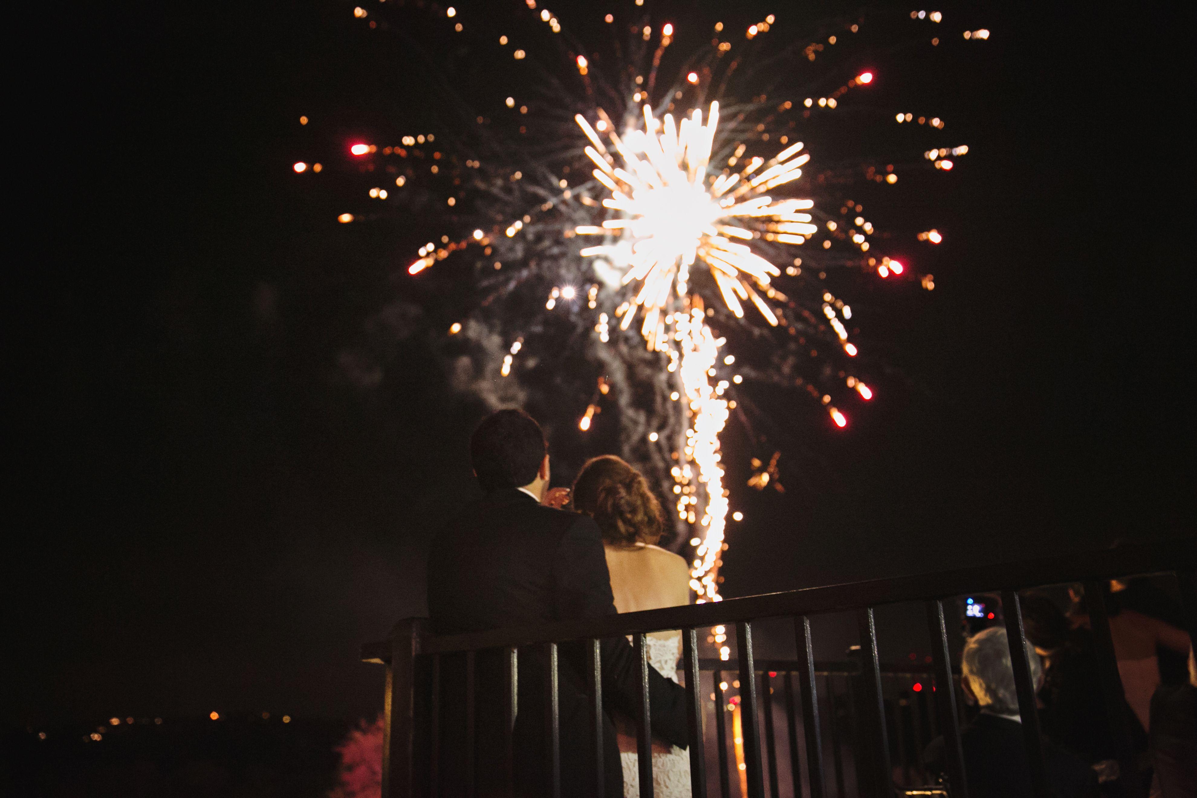 Fireworks Nour Abdul Reception And Ceremony At Barton Creek Resort Austin Tx Floral By Eventdesigner Photograp Fireworks Magical Memories Wedding
