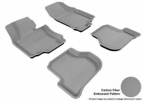 Maxpider 3d Rubber Molded Floor Mat For Volkswagen Jetta 05 10 Kagu Gray Row 1 2 Jetta Gli Volkswagen Jetta Volkswagen